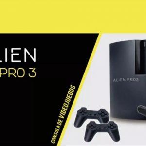 Consola Alien Pro 3 + 2 Joystick Pistola Family