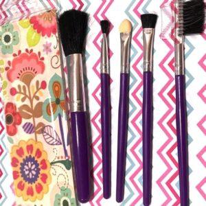 Set Pinceles Maquillaje x 5
